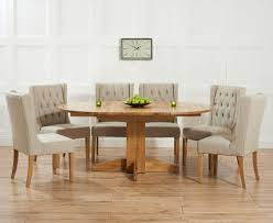 dining chairs best extendable oak dining table and 6 chairs awesome dorchester 120cm solid oak