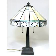 glomorous tiffany style mission table lamp dale lamps aztec table lamps tiffany style mission table lamp