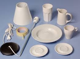 Lampadario Bagno Fai Da Te : Abat jour con le ceramiche fai da te bricoportale e
