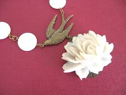 Designs By Touche White Rose Brass Sparrow Close Linda La Touche Flickr