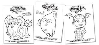 Coloring books for boys and girls of all ages. Free Vampirina Coloring Pages And Activity Sheets To Download And Print