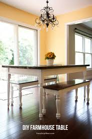 farm dining room table. 7 DIY Farmhouse Dining Room Tables. All Have Free Downloadable Plans. Build Your Own Farm Table