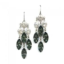 statement swarovski crystal event earring