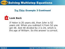20 solving multistep