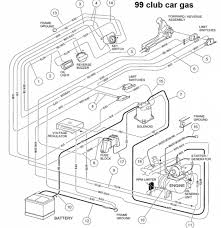 club car gas golf cart wiring diagram club wiring diagrams