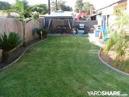 Landscaping Ideas Small Backyard Paradise In CA YardShare Magnificent Backyard Paradise Landscaping Ideas