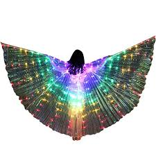 Togethor Girls LED Butterfly Wings <b>Belly Dance Costumes</b>