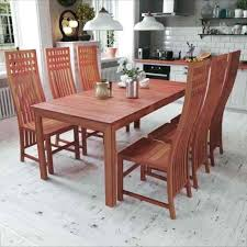 round white wooden kitchen table and chairs small sets with 6 7 piece red brown solid