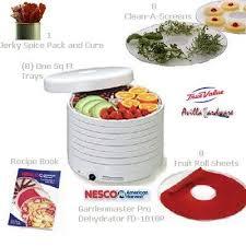 nesco fd 1018p snackmaster 8 tray food