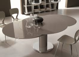 53 extendable round dining table set hudson bali round extending pertaining to extending dining room table