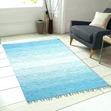 ombre area rug area rugs fringe cotton hand woven blue area rug blue area rugs area