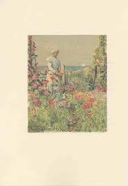 an island garden by celia thaxter 1894 1895 ilrated by childe hassam