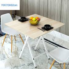 Ty Small Wooden Folding Kitchen And Dining Table Camping Garden