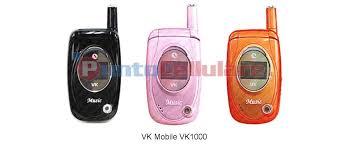 VK Mobile VK1000 - scheda tecnica ...