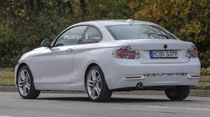 2018 bmw 2 series.  series 2018 bmw 2 series coupe facelift spy photo  inside bmw series