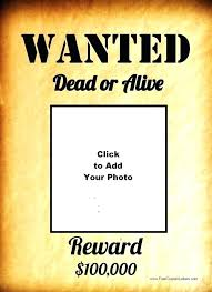 wanted photoshop template most wanted poster template marvelous free photoshop