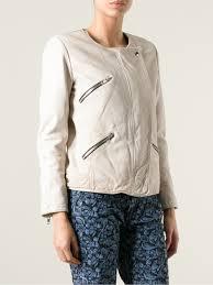 lyst Étoile isabel marant women s crop cornell jacket in white
