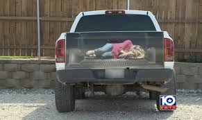 Ad Company Decal Depicts Woman Tied Up In The Back Of A Truck ...
