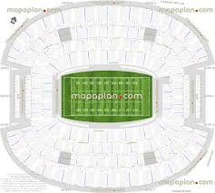 Dallas Cowboys Seating Chart With Rows At T Stadium Dallas Cowboys Stadium Football Plan For Nfl