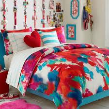 bed sheets for teenage girls. Teen Vogue Bedding Poppy Art Floral Full/Queen Comforter Set Bed Sheets For Teenage Girls S