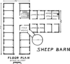 sheep barn plans