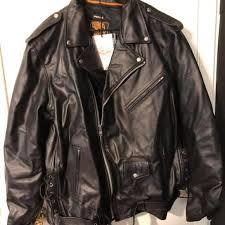 New Mens Milwaukee Leather Motor Cycle Jacket Nwt