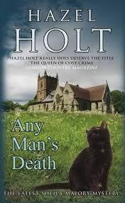 Any Man's Death : Hazel Holt : 9780749008857