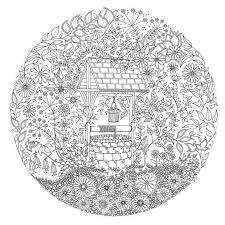 cool inspiration secret garden coloring pages an inky treasure hunt book building free completed the
