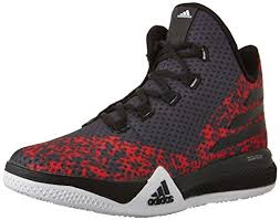 adidas high tops. adidas performance men\u0027s light em up 2 basketball shoes,black/white/scarlet,10.5 m us high tops \