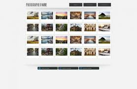 Photography Website Templates Beauteous Photography Website Template Free Photography Web Templates