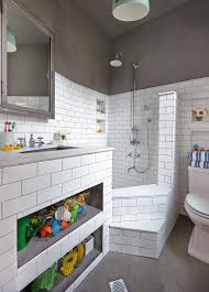 dazzling bath toy storage by timothy bell photography
