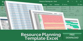 Load Chart Template Excel Resource Planning Template Excel Free Download