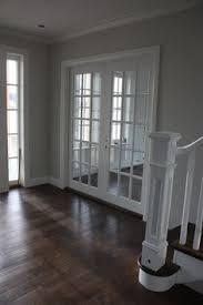grey walls white trim dark floors dark walls grey walls white trim