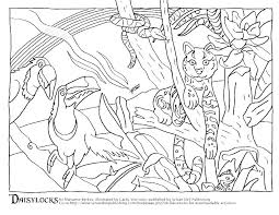 Rainforest Animal Coloring Pages Animals Coloring Pages Rainforest