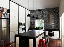 Modern Kitchen Interiors Modern Kitchen Interior Design With Stylish Black White Concept