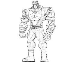 You can see his line art here cyclops colors. 14 Pics Of X Men Colossus Coloring Pages X Men Coloring Pages Coloring Home