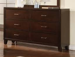 acme tyler 6drawer dresser in espresso 19545 espresso 6 drawer dresser79