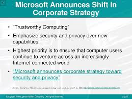 Microsoft Corporate Strategy Chapter 2 Planning Implementing And Controlling Marketing