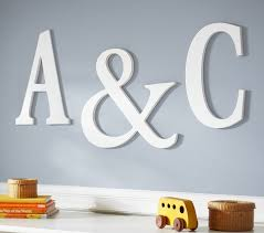 nursery initials personalized baby