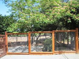 Wood And Wire Fence Designs Thehrtechnologist Wood and Wire