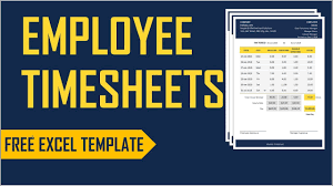 Excel Employee Time Sheet Employee Timesheets Excel Template Time Card Work Hours Calculator