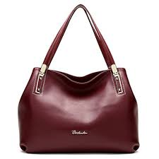 bostanten women s cow leather designer handbags purses tote shoulder bags wine red attention bostanten is an us registered trademark and our