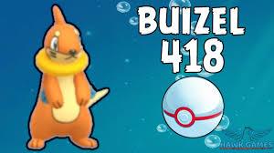 Buizel caught - Generation 4 Pokedex 418 - Pokemon GO [No Hack] - YouTube