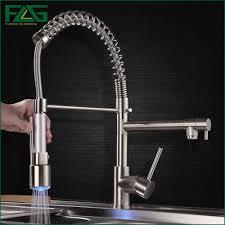 Polished Nickel Kitchen Faucet Popular Brushed Kitchen Tap Buy Cheap Brushed Kitchen Tap Lots