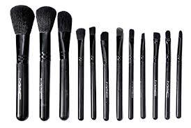 vergetm verge mac cosmetic makeup brush set 12 pcs amazon in beauty