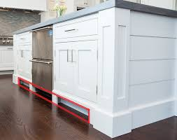 diy kitchen island stock cabinets. kitchen island toe kick diy stock cabinets
