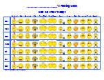Emoji Feelings Chart Printable Feeling Charts Feelings Chart Feelings Charts
