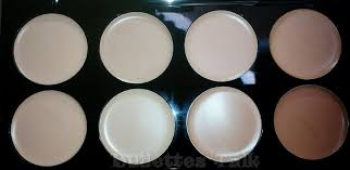 makeup revolution cover conceal palette in light um with flash