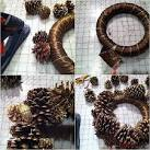 Поделки из ольховых шишек