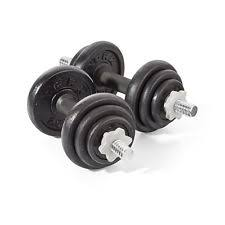 york legacy dumbbell set. york fitness 20kg cast iron dumbbell set, weights gym training new legacy set